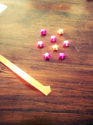 photos origami étoiles blog 3